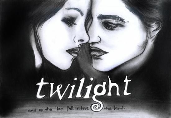 Robert Pattinson, Kristen Stewart par Hillcza
